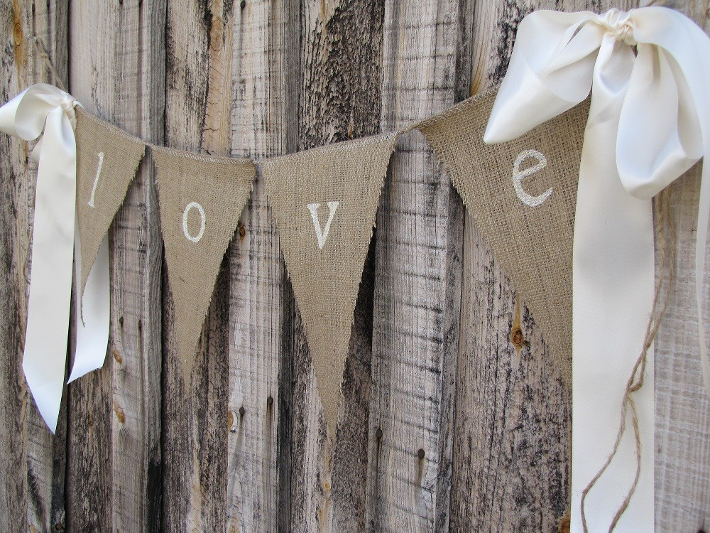 Although I 39d like to do a muted bunting burlap with lots of natural wood and