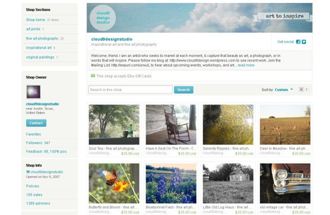 Fine Art Photography ~ just listed on Etsy!