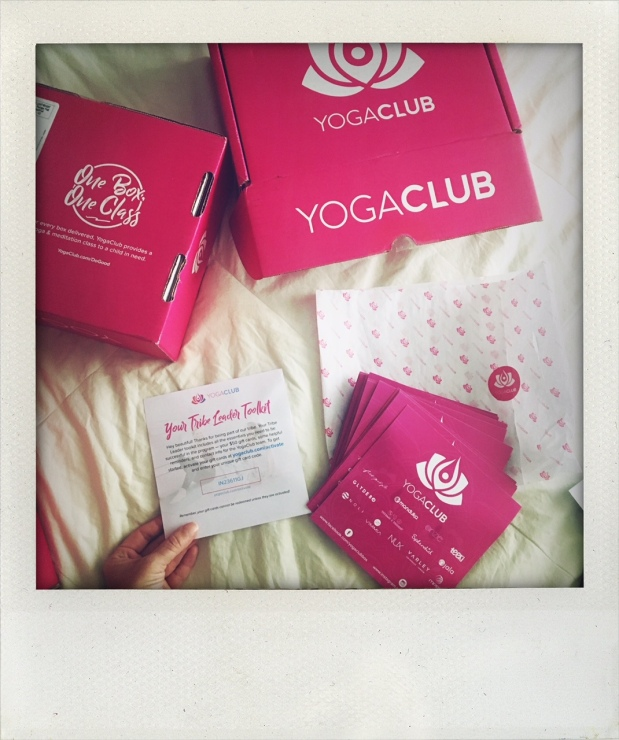 YogaClub Subscription Box $50 Credit Gidt Card